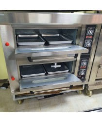 Oven, Two Deck 4 Trays