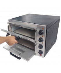 Pizza Oven Electric Double Deck