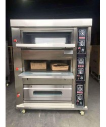 Oven, Three Deck 6 Tray