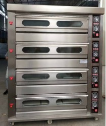 Oven, Four Deck 16 Tray